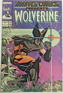 MARVEL COMICS PRESENTS#1 VF/NM 1988 WOLVERINE MARVEL COMICS
