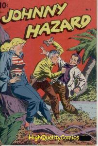 JOHNNY HAZARD #5,Pre-code,1948, Jui-Jitsu,Guns, Jungle