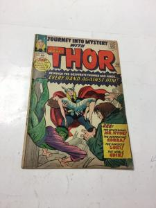 Journey Into Mystery With Thor 110 Vg- Very Good- 3.5