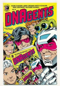 DNAGENTS #18, VF/NM, Eclipse Comics 1983 1985  more Indies in store