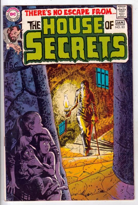 House of Secrets #83 (Jan-70) VF+ High-Grade