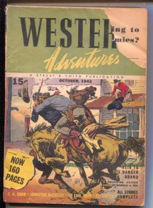 Western Adventures 10/1942-Johnston McCulley-Norman A Fox-Gunnison Steele-G