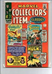 Marvel Collector's Item Classics #3 - Hulk - Iron man - reprint - 1966 - Fine