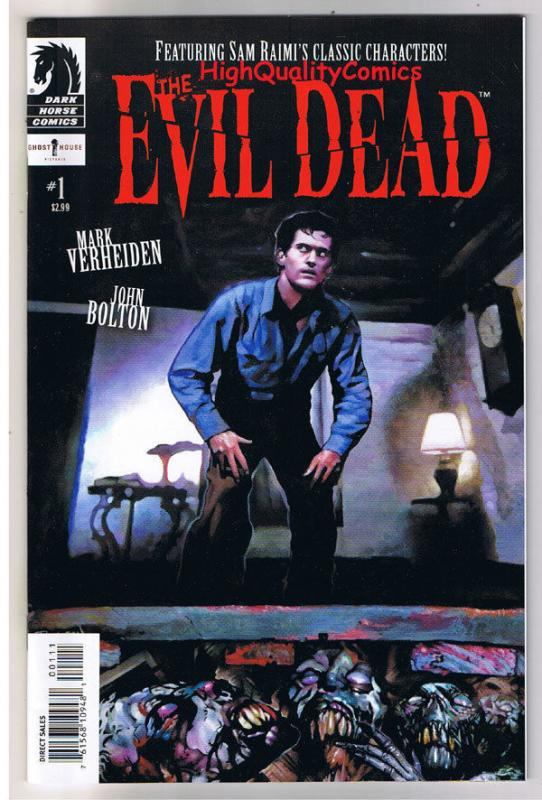 EVIL DEAD 1 2 3 4, NM, John Bolton, Army of Darkness, 2008, Zombie, Book of Dead