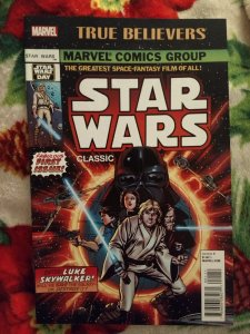 Starwars Classic True Believers #1 NM