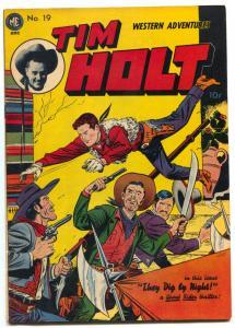 Tim Holt Comics #19 1950- Ghost Rider- Redmask teaser VF+