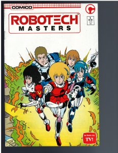 Robotech Masters #1 (1985)