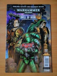 Warhammer 40,000 Will of Iron #1 ~ NEAR MINT NM ~ 2016 Titan Comics