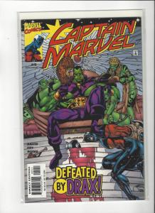 Captain Marvel #5 (2002) Vs Drax The Destroyer Marvel Comics NM