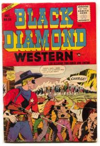 Black Diamond Western #58 1955- Return of the Scorpion