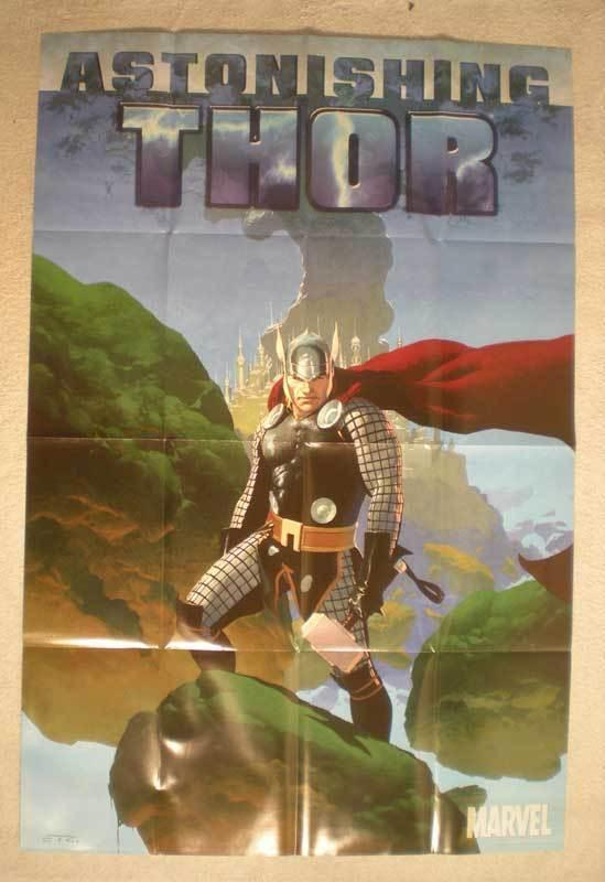 ASTONISHING THOR Promo Poster, 24 x 36, 2010, Unused, more in our store