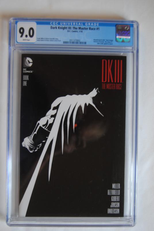 Dark Knight lll, The Master Race, #1, 9.0
