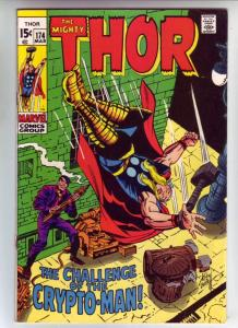 Thor, the Mighty #174 (Mar-70) NM- High-Grade Thor