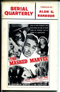 Serial Quarterly #2 1966-serial synopsis-Masked Marvel-Son of Geronimo-FN/VF