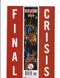 Lot of 5 Final Crisis Revelations DC Comic Books #1 2 3 4 5 KS3