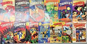 THUNDER AGENTS#2-20 VG-VF LOT 1966 (13 BOOKS) WALLY WOOD TOWER SILVER AGE COMICS