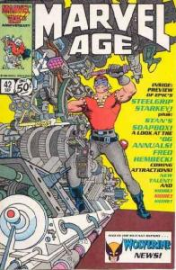 Marvel Age #42, Fine (Stock photo)