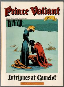 Prince Valiant #11 1990-Fantagraphics-color reprint-Hal Foster-Intrigues Of Came