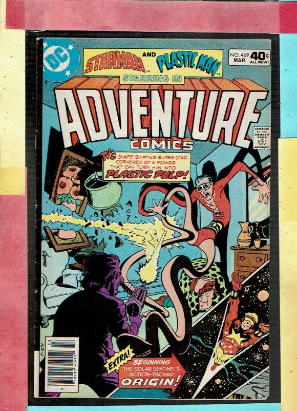 ADVENTURE COMICS STARMAN AND PLASTIC MAN 469