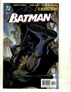 Batman HUSH Complete DC #608 609 610 611 612 613 614 615 616 617 618 619 (2) SM8