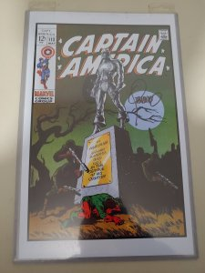 CAPTAIN AMERICA #113 print signed by JIM STERANKO W/COA Measures 11x17