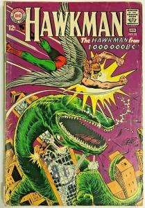 HAWKMAN#23 VG 1967 DC SILVER AGE COMICS