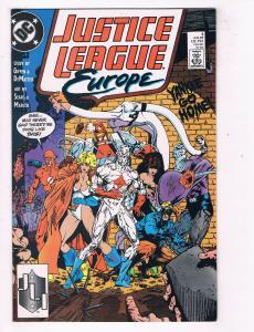 Justice League Europe #3 VF/NM DC Comics Comic Book Jun 1989 DE46