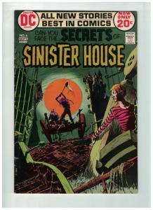 SECRETS OF SINISTER HOUSE 6 VG-F  Sept. 1972