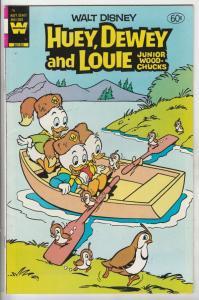 Huey Dewey and Louie Junior Woodchuks #76 (May-83) VF/NM+ High-Grade Huey Dew...
