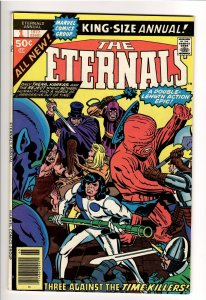 ETERNALS(KIRBY,1976);ANNUAL #1 VF/NM 9.0