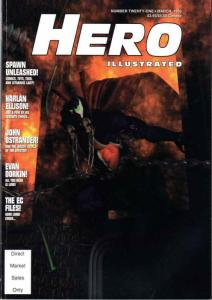 Hero Illustrated #21 FN; Warrior | save on shipping - details inside