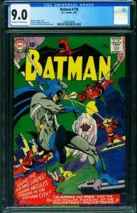BATMAN #178 CGC 9.0 1966-DC COMICS-Silver-Age 2039574009