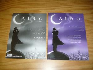 Cairo: A Modern Fable SC VF/NM original graphic novel + preview - willow wilson