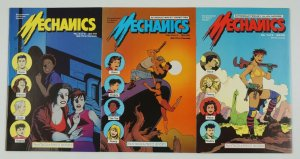 Mechanics #1-3 VF complete series - love & rockets set - alan moore - pini 2