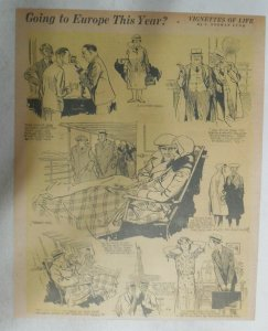 Vignettes Of Life by Norman Lynd Europe ! from 1930 Size: 10 x 13 inch