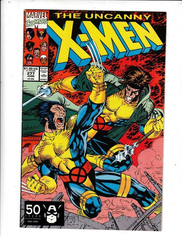 THE UNCANNY X-MEN #277 VF/FN  MARVEL COMICS