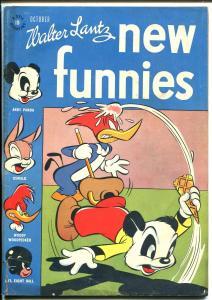 New Funnies #114 196-Dell-Li'l Eight Ball-Woody Woodpecker-ice cream-G/VG