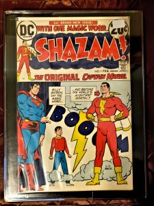 SHAZAM #1 - Captain Marvel joins the DC Universe VF+