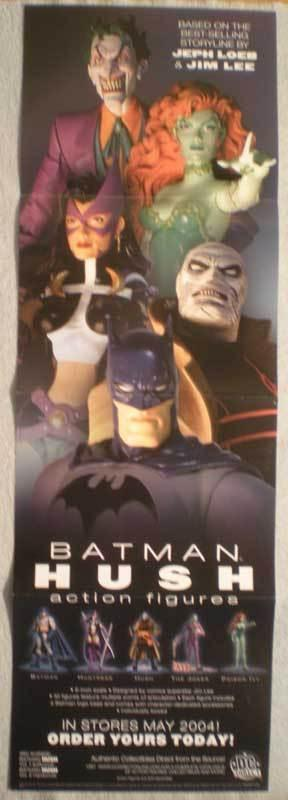 BATMAN HUSH AF Promo poster, 11x34, 2004, Unused, more Promos in store