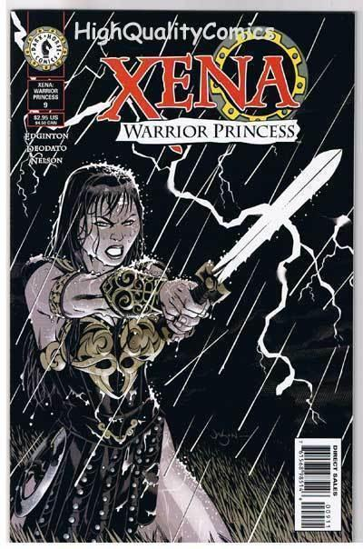XENA WARRIOR PRINCESS 9, NM+, Lucy Lawless, 1999, more in store
