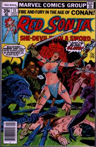 Red Sonja #11 ( 1st Series ) - 8.0 or Better