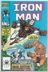 Iron Man   vol. 1  #206 FN