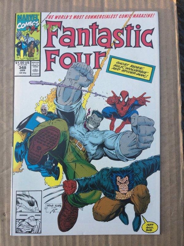 Fantastic Four #348 (1991)