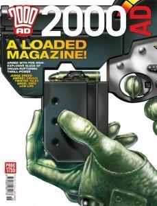 2000 AD Magazine Prog 1755 Judge Dredd NM.