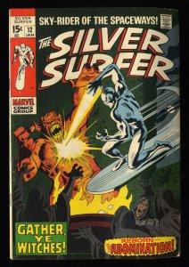 Silver Surfer #12 FN- 5.5 Marvel Comics