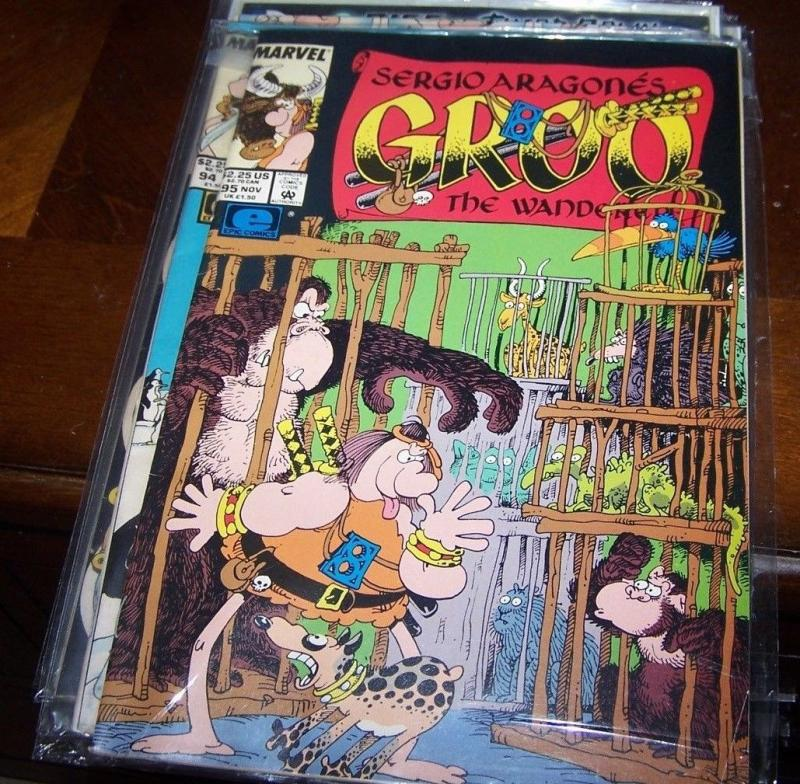 GROO THE WANDERER #16 VERY FINE 1985 EPIC COMICS SERGIO ARAGONES