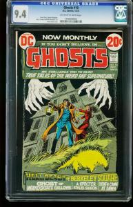GHOSTS #10 1972-CGC GRADED 9.4 -DC HORROR NICK CARDY 1196809003