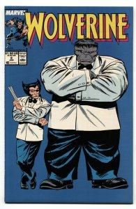 Wolverine #8 Hulk cover-Marvel Comic Book  1989 NM-