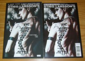 Stieg Larsson's the Girl With The Dragon Tattoo SC VF/NM graphc novel + preview
