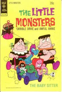 LITTLE MONSTERS 25 VF-NM    June 1974 COMICS BOOK